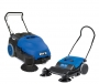 Walk-behind and battery sweepers